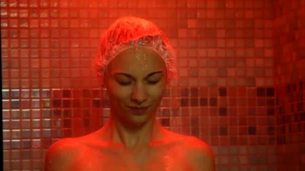 flickor dusch videor