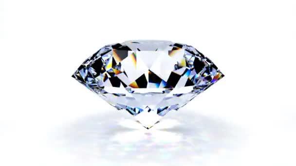 zářící diamant
