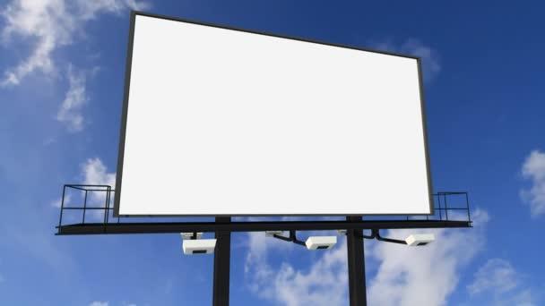 Billboardu pod mraky