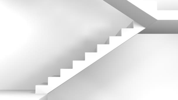 na schodech v černé a bílé