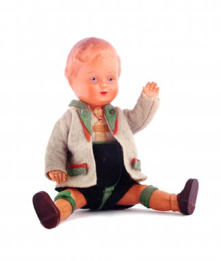 Vintage rubber doll boy
