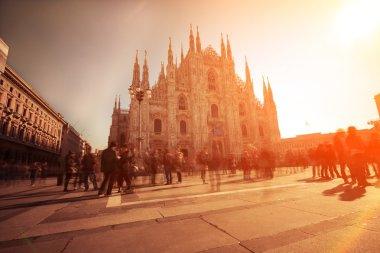 Piazza del Duomo of Milan.