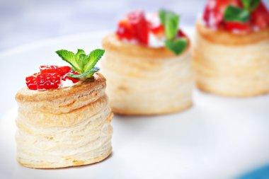 Strawberry Tart with Fresh Cream