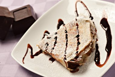 Delicious french crepe