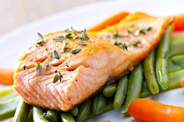 deliciousFillet of Salmon.