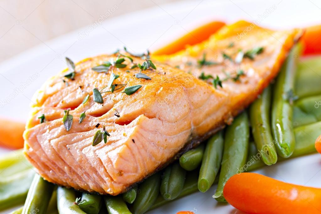 deliciousFillet of Salmon.