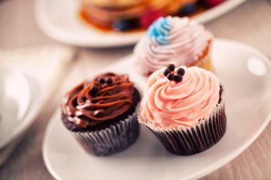colorful delicious Cupcakes