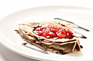 Delicious french crepes
