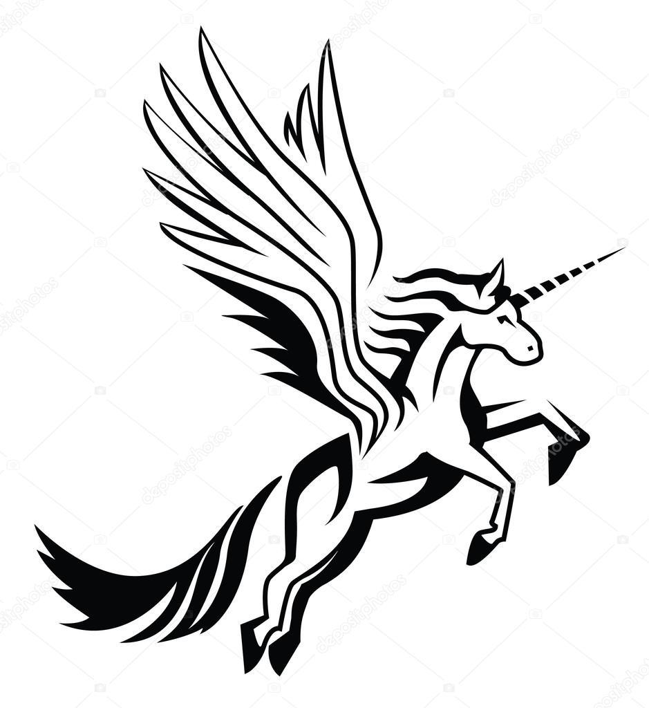 unicorn — stock vector © funwayillustration #54805245