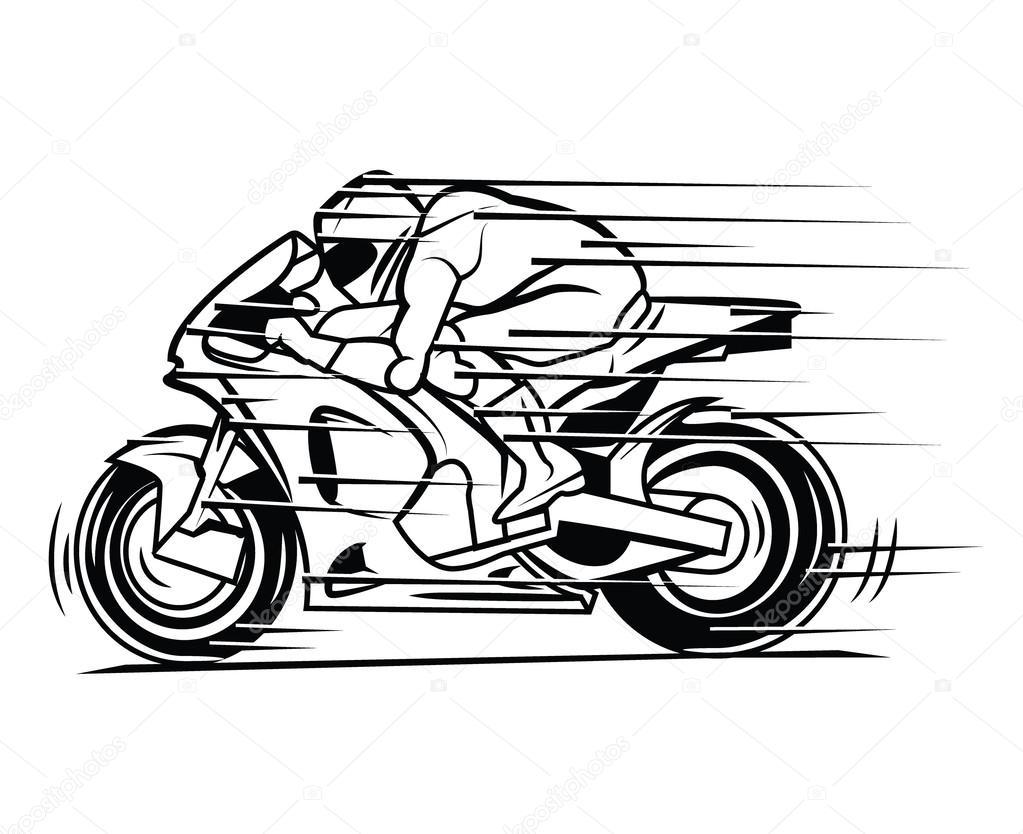 Vectores Carreras De Motocicletas Carrera De Moto Vector De