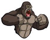 Photo Gorilla Mascot