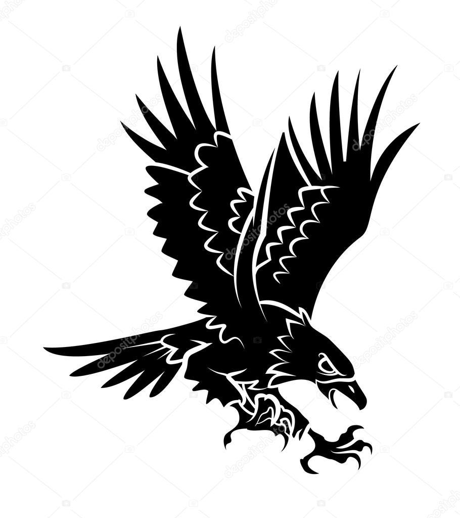 Ilustración de Vector de águila — Archivo Imágenes Vectoriales ...