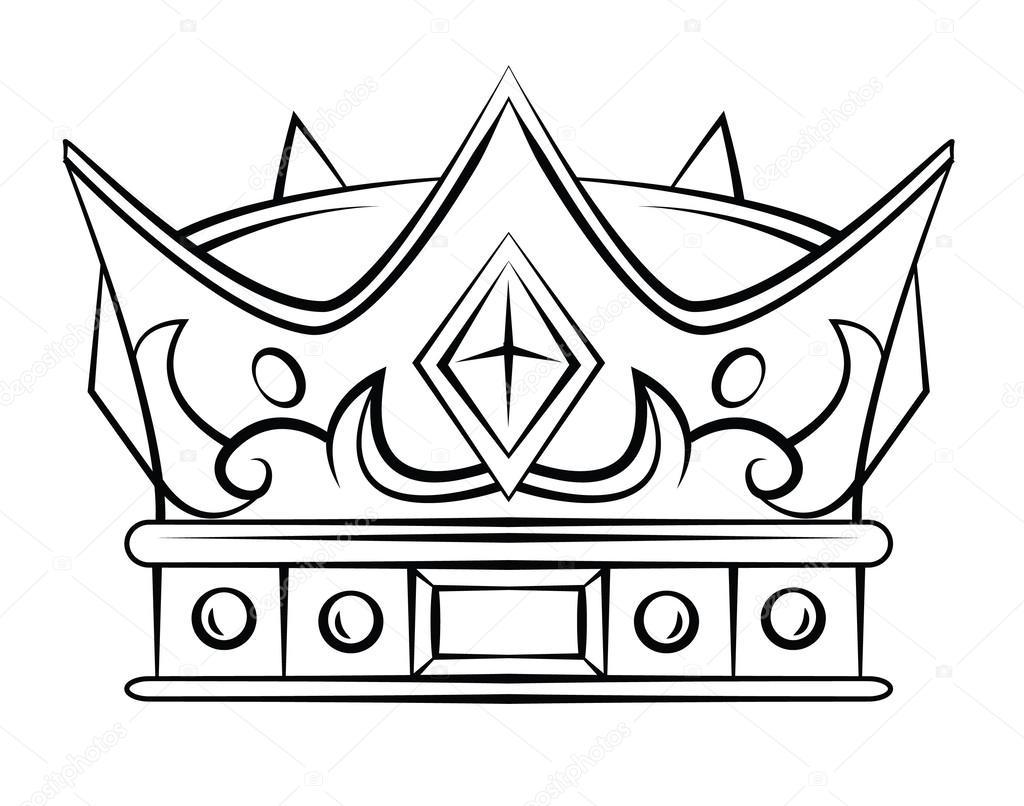Crown Symbol Stock Vector Funwayillustration 61610415