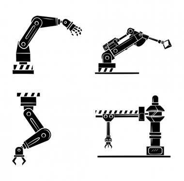 Robotic Hand Symbol