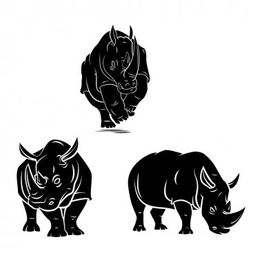 Rhinos tattoo Collection
