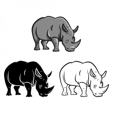 Rhinos tattoo Collection