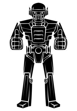 Robot Thumbs Up tattoo