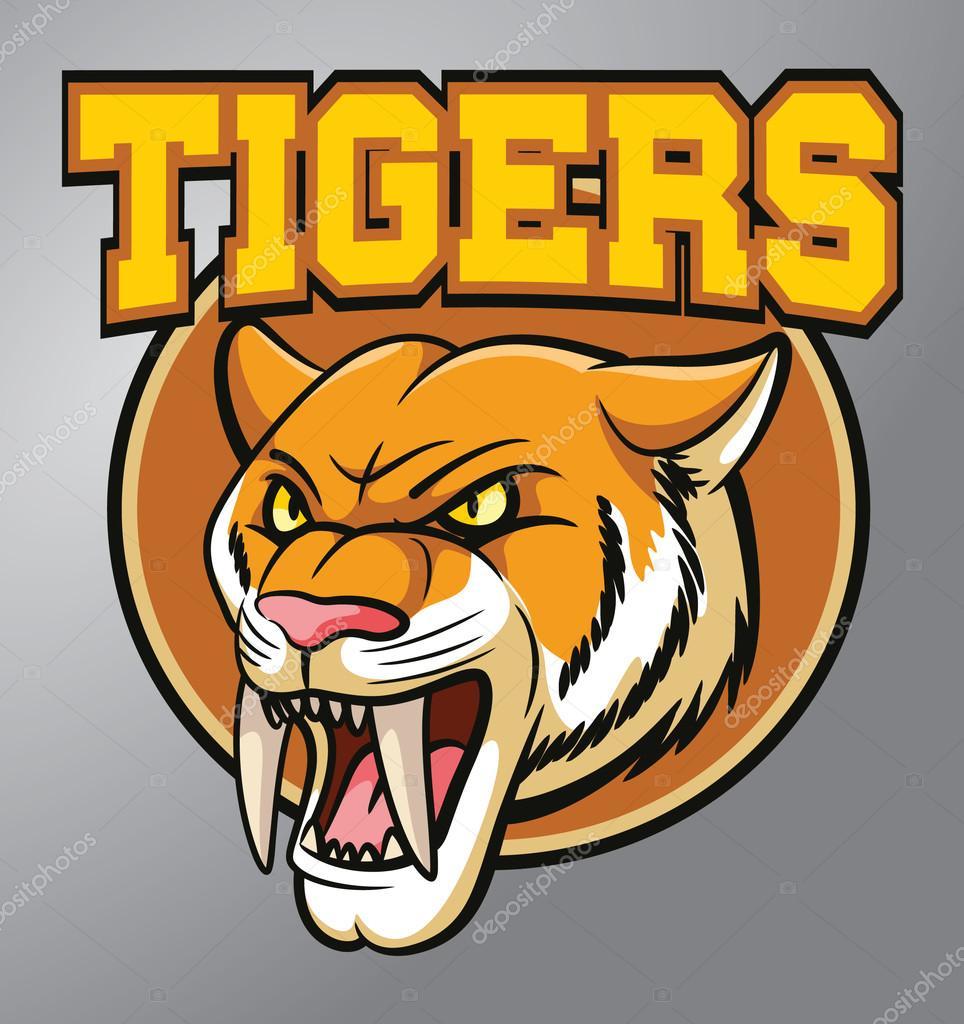 mascota de tigre — Archivo Imágenes Vectoriales © funwayillustration ...