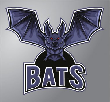 Bats Mascot