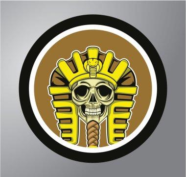 Sphinx Circle sticker