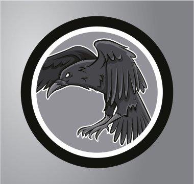 Ravens Circle sticker