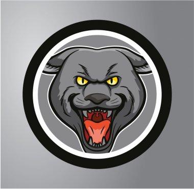 Panthers Circle sticker