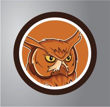 Owls Circle sticker