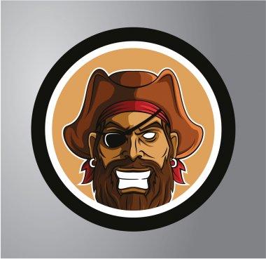 Pirates Circle sticker