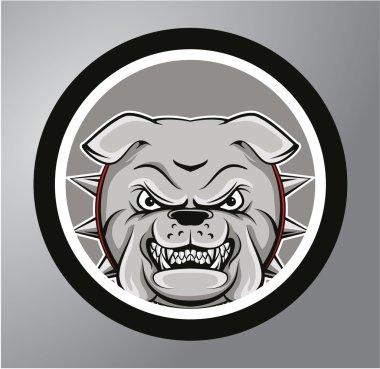 Bulldogs Circle sticker