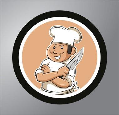 Chefs Circle sticker