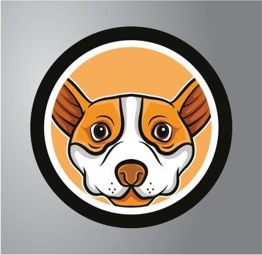 Puppies Circle sticker