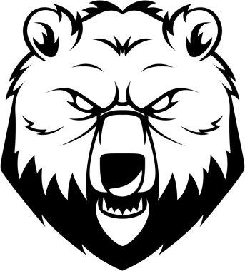 Bear symbol illustration