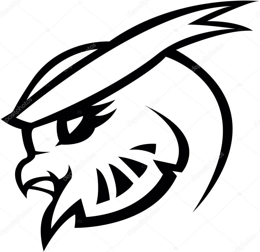 La Chouette Symbole conception de chouette symbole illustration — image vectorielle