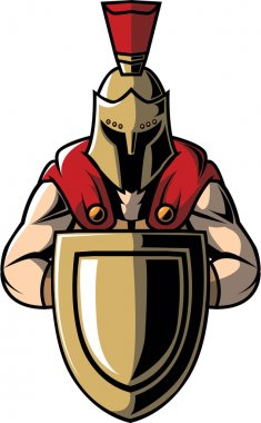 Spartan warrior design vector illustration
