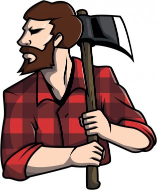 Lumberjack design vector illustration