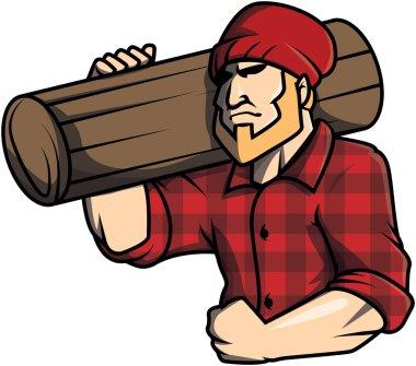 Lumberjack design vector illustration
