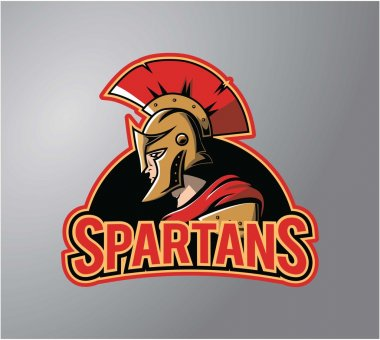 Spartans symbol illustration design