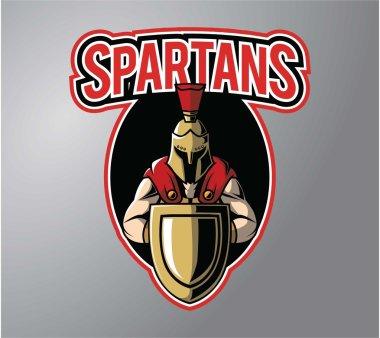 Spartans symbol illustration design