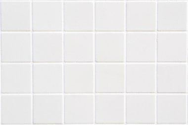 """Картина, постер, плакат, фотообои """"белая керамическая плитка с 24 квадратами в прямоугольной форме """", артикул 54760827"""