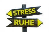 Stres - mír rozcestník