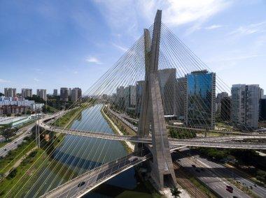 Famous Bridge in Sao Paulo
