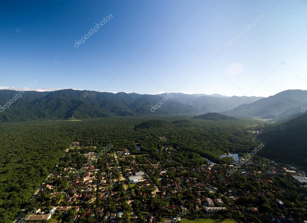 Mountains in Sao Sebatiao, Sao Paulo