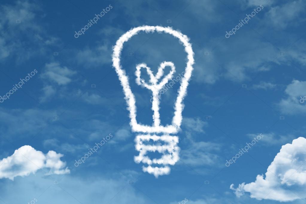 Idea Concept cloud