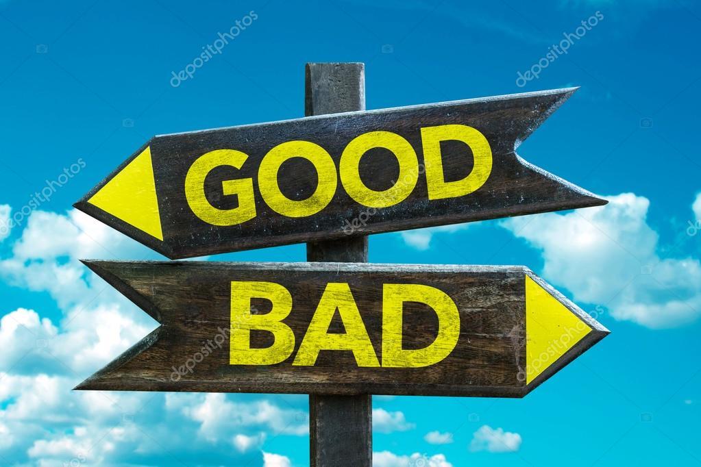 Bad - Good crossroad