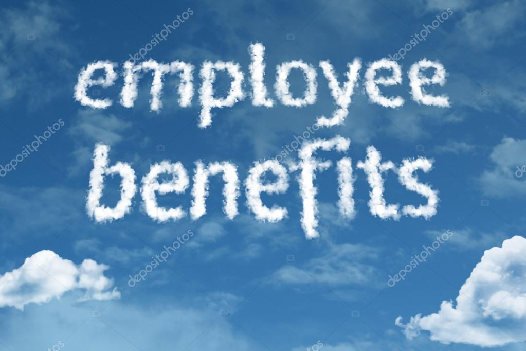 Employee Benefits cloud words