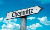 Fotografie Chemnitz-Straßenschild