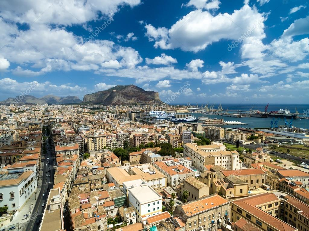 Palermo city, Italy