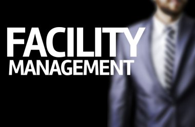 Facility Management written on a board