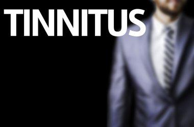 Tinnitus written on a board