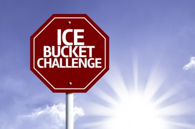 Ice Bucket Challenge red sign